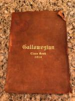 1914 Galloway female college Class Book