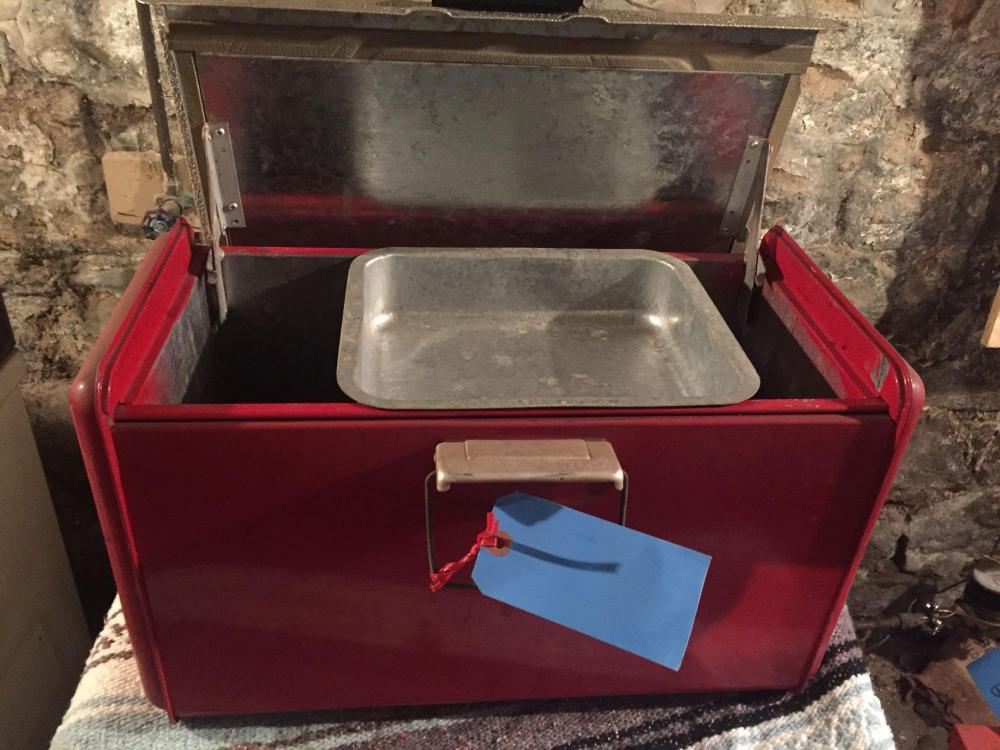 Poloron thermaster cooler-vintage aluminum