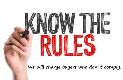 Please follow the rules - We will be charging buyers who do not follow our terms. *** Wears Auctioneering WILL be charging buyers $25 per lot for items we have to help remove due to a buyers lack of preparedness, any lot we have to haul home for a buyer,