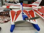 Foam battery operated RC airplane