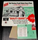 1957 IH International McCormick RARE Baler Twine Fold Out Dealer Display Sign