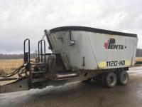 Penta 1120-HD Vertical Feed Cart, Reversible delivery, dual scale monitors