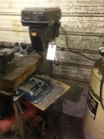 "Craftsman 17"" Drill Press with floor stand"