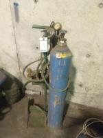 Torch Head, hoses, gauges and Cart -Does Not Include Tank