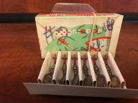 6 - Mepps #2 Silver Spinner Lures in Original Box